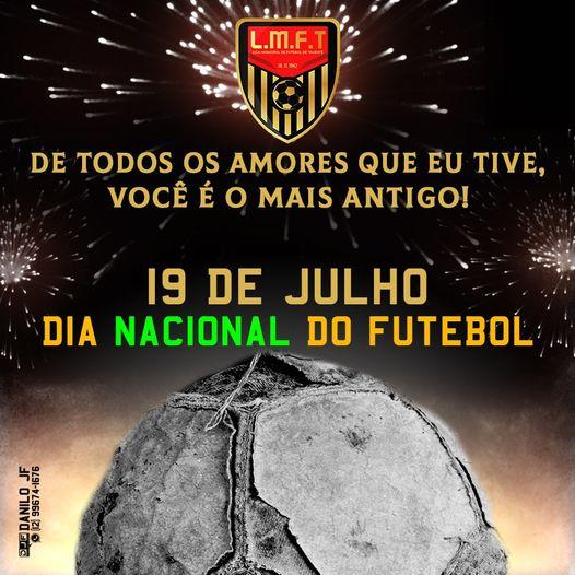 19 de julho dia nacional do futebol