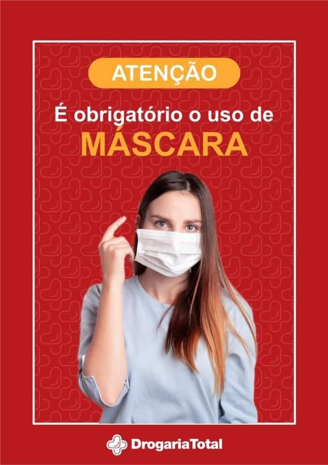Uso da máscara agora é obrigatório.